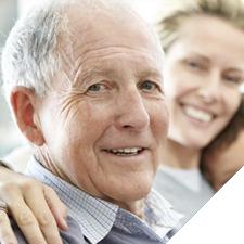 Photo of older man smiling